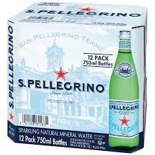 Kroger San Pellegrino Spring Natural Mineral Water Case