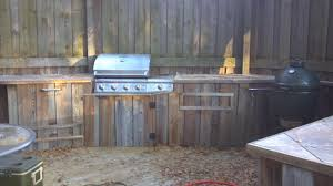 Building An Inexpensive Rustic Outdoor Kitchen Old World Garden