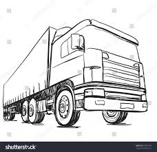 Semi Truck Drawing Side View – Tradingboard.info Semi Truck Outline Drawing How To Draw A Mack Step By Intertional Line At Getdrawingscom Free For Personal Use Coloring Pages Inspirational Clipart Peterbilt Semi Truck Drawings Kid Rhpinterestcom Image Vector Isolated Black On White 15 Landfill Drawing Free Download On Yawebdesign Wheeler Sohadacouri Cool Trucks Side View Mailordernetinfo