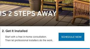 Get It Installed With A Free In Home Consultation Then Let Professional Installers Do
