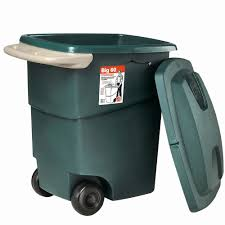 Under Cabinet Trash Can With Lid by Naturally Loriel Diy Trash Can Compost Bin Under Sink Roller Img