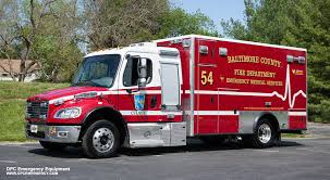 100 Freightliner Fire Trucks Baltimore County Department Towson MD 21 2014
