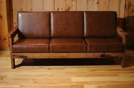 Wooden Sofas With Cushions