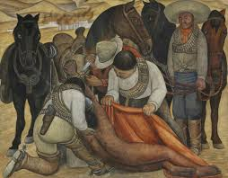 Diego Rivera Rockefeller Center Mural Controversy by Diego Rivera Liberation Of The Peon Artsy