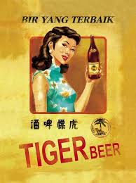 Classic Tiger Beer Ads