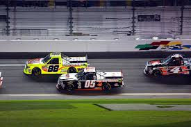 100 Nascar Truck Race Results Bad Boy Mowers Townley Knocked Out Of Daytona In Late Race Pileup