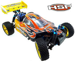 100 Remote Control Gas Trucks HSP 94166 Rc Car 110 Scale 4wd Off Road Buggy Backwach Nitro