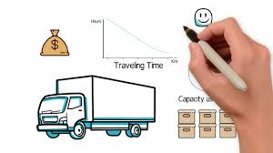 100 Commercial Truck Routes How To Solve Vehicle Routing Problem YouTube