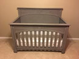 Babies R Us Dresser With Hutch by Evolur Santa Fe 5 In 1 Convertible Crib Storm Grey Babies