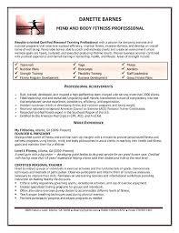 Fitness Club Manager Sample Resume Custom Gym Example Fa 488 48
