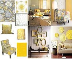 Gray And Yellow Living Room Ideas Grey Dining Best