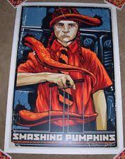 Smashing Pumpkins Tour Merchandise by Smashing Pumpkins Memorabilia Ebay