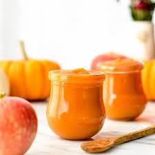 Freezing Pumpkin Puree In Glass Jars by Homemade Apple U0026 Pumpkin Baby Food Puree Joyfoodsunshine