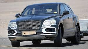 100 2015 Bentley Truck Bentayga Spied With Slightly Less Camo Testing In Death Valley
