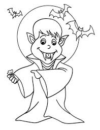 Cartoon Of Vampire Under The Moonlight In Hotel Transylvania Coloring Pages