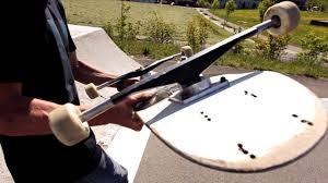 100 Wide Longboard Trucks EVEN WIDER WIDEST TRUCKS EVER Skateboard Challenge YouTube