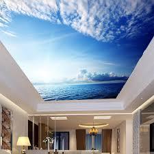 ᗜ Lj moderne einfache blauen himmel und weißen wolken meer