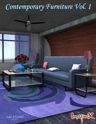 100 1 Contemporary Furniture Vol 3D Models And 3D Software By
