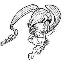 Winx Club Fairy Coloring Pages