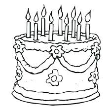 birthday cake coloring pages birthday cake coloring pages birthday party planner for you birthday cake coloring birthday cake