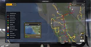 Background Map And Nav Icons (map, Gps And Route Advisor) For Mod ...