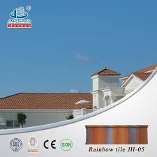 terrabella classic coated metal roof tile with cheap price