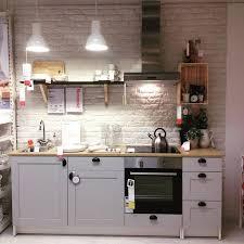 vorteilhaftes angebot küche ikea knoxhult in grau