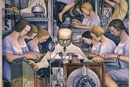 Diego Rivera Rockefeller Center Mural Controversy by Diego Rivera Detroit Industry Murals At The Detroit Institute Of