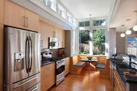 Kitchen Booth Ideas Furniture by Kitchen Booth Ideas Kitchen Contemporary With Wood Cabinets Wood