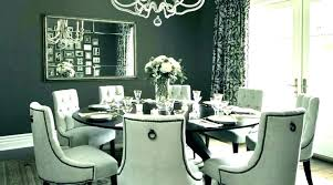 Round Dining Room Sets For 8 Glass Seat Tables