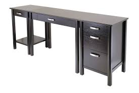 Small Computer Desk Ideas by Interesting Contemporary Office Desk Design With Rectangular Black