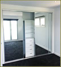Frameless Mirror Sliding Closet Doors