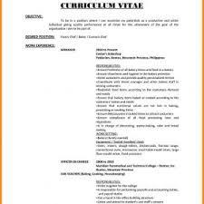 Resume Sample For A Fresh Graduate