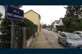 denis lès bourg la rue du petit montholon va être réaménagée