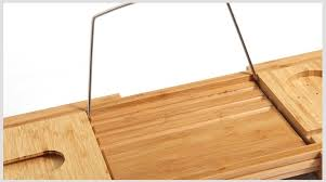 Bamboo Bathtub Caddy With Wine Glass Holder by 100 Bamboo Bathtub Caddy With Extendable Sides Cellphone Tray