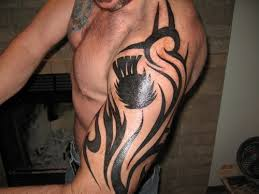 Scottish Thistle In Tribal For Those Who Are Going To Rip On Art A White Guy The Pictish People Scots Were Tattooing Thousands Of Years