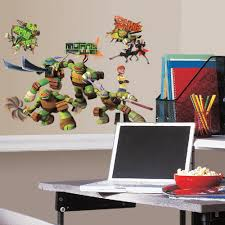 Wall Mural Decals Amazon by Roommates Rmk2246scs Teenage Mutant Ninja Turtles Peel And Stick