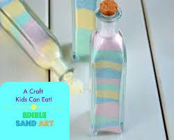 Candy Sand Art A Craft Kids Can Eat