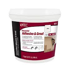 shop tec 32 oz white premixed grout at lowes