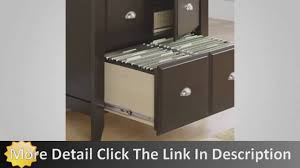sauder shoal creek lateral file cabinet youtube