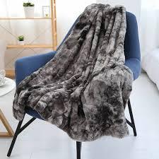 luxus künstliche pelz decke weichen und flauschigen sofa wohnzimmer plüsch umarmung decke leichte decke für herbst winter und frühling