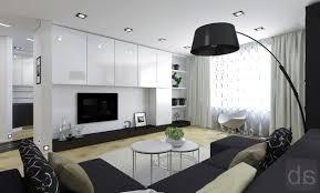 Black And White Modern Living Room Furniture Living Room