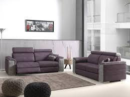 showroom canapé canapé 3 places 2 places avec relax électrique et têtières amovibles