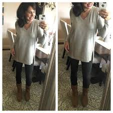 With Leggings And Uggs Mom Style Fashion Favorites Over Laid Back Outfit By Polyvore My