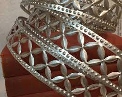 Decorative Metal Banding For Furniture by Metal Embellishment Etsy