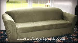 Sure Fit Sofa Cover 3 Piece by Amazon Com Sure Fit Sf37946 3piece Stretch Pique Slipcover