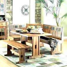 Kitchen Dining Booth Room Table With Built In Bench Seating