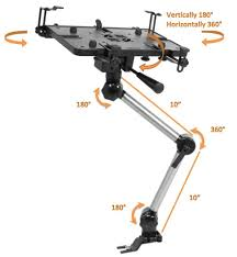 Mobotron Vehicle Laptop Mount, 10