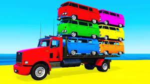 COLOR BUS On TRUCK And Cars Cartoon For Kids & Fun Colors For ... Tow Truck Song Vehicles Car Rhymes For Kids And Childrens Assembly Lightning Mcqueen Color Nursery Fire Chick Monster Trucks Mcqueen Mater Destroy Police Cars Fun Spiderman Little Red Monster Songs Rig A Jig Mack For Children Learn Colors And Stunts Tricks Captain America Ironman Crazy Plastic Ball Abc Twinkle Star Rhyme Busta Rapper Looking Built Like A Mac Truck The Wheels On Garbage Original Vehicle Driving Truck In Video