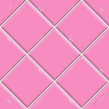 Seamless Pink Tiles Texture Background Kitchen Or Bathroom Concept Stock Photo